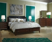 Aspen Sleigh Storage Bedroom Genesis AS-I10-400SetD