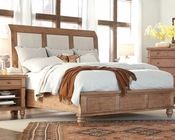 Aspen Upholstered Sleigh Bed Spruce Bay AS-I72-400BED