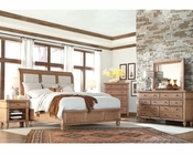 Aspen Upholstered Sleigh Bedroom Spruce Bay AS-I72-400Set