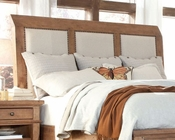 Aspen Upholstered Sleigh Headboard Spruce Bay AS-I72-400HB