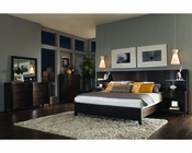 Aspenhome Bedroom w/ Curved Headboard Bed Contour ASI11-412-15Set