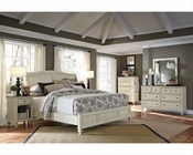 Aspenhome Bedroom w/ Sleigh Bed Cottonwood ASI67-400-4Set