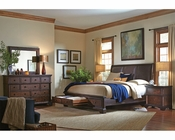 Aspenhome Bedroom Set w/ Storage Bed Bancroft ASI08-422SSET