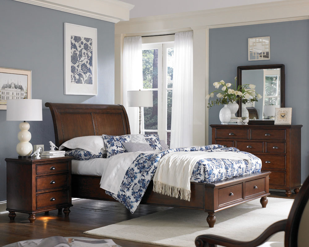Aspenhome Bedroom Set W Storage Bed Madison Asia200 400sset