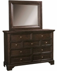 Aspenhome Chesser and Mirror Bayfield  ASI70-455-63DK
