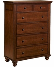 Aspenhome Chest Cambridge in Cherry ASICB-556-BCH
