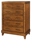 Aspenhome Furniture 5 Drawer Chest Tamarind ASI68-456