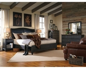 Aspenhome Furniture Bedroom w/ Sleigh Bed Ravenwood ASI65-400-4Set