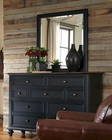 Aspenhome Furniture Chesser with Mirror Ravenwood ASI65-455-62