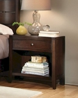 Aspenhome Furniture One-Drawer Nightstand Contour ASI11-451