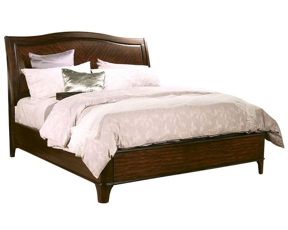 Aspenhome Furniture Sleigh Bed Lincoln Park ASI82 400BED