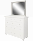 Aspenhome Mirror Cambridge in Eggshell ASICB-563-EGG
