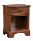 Aspenhome One-Drawer Nightstand Cherry Forge ASI12-451N