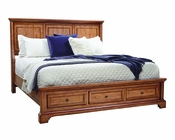 Aspenhome Panel Bed Alder Creek ASI09-412BED