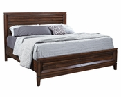 Aspenhome Panel Storage Bed Walnut Park ASI05-412SBED