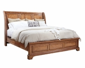 Aspenhome Sleigh Bed Alder Creek ASI09-400BED