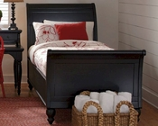 *Aspenhome Sleigh Bed Cambridge in Black ASICB-500BED-BLK