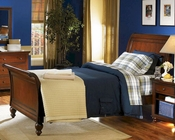 Aspenhome Sleigh Bed Cambridge in Cherry ASICB-500BED-BCH