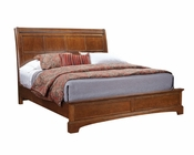 Aspenhome Sleigh Bed Cherry Forge ASI12-400BED
