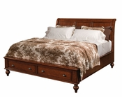 Aspenhome Sleigh Storage Bed Madison ASIA200-400SBED