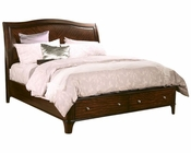 Aspenhome Storage Sleigh Bed Lincoln Park ASI82-400STBED