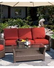 Avalon Patio Sofa by Sunny Designs SU-4753-L3