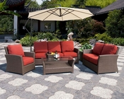 Avalon Patio Sofa Set by Sunny Designs SU-4753-Set
