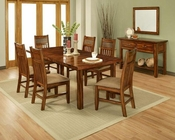 Ayca Dining Set in Cherry Finish Marissa Country AY-21-2001Set