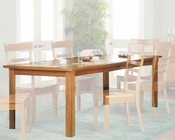 Ayca Dining Table Cottage Cherry AY-82001