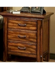 Ayca Nightstand in Cherry Finish Marissa Country AY-21-0661