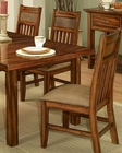 Ayca Side Chair in Cherry Finish Marissa Country AY-21-2006 (Set of 2)