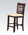 Bar Chair Lugano by Acme Furniture AC07676 (Set of 2)