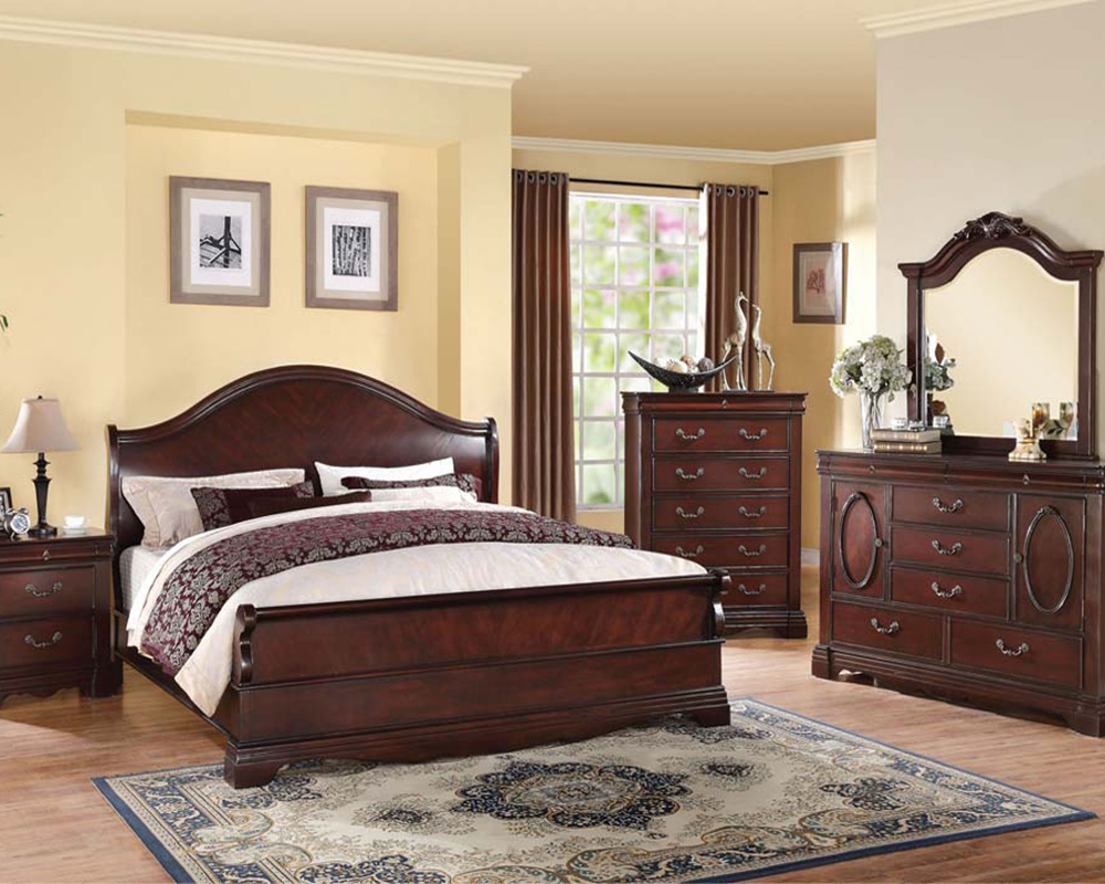 bedroom set beverly by acme furniture ac22730set