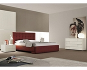 Bedroom Set Bordeaux Eco-Leather Bed 44B172BD