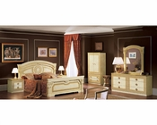 Bedroom Set Cleopatra European Design Made in Italy 33B401