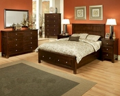 Bedroom Set Cottage Cherry Chocolate by Ayca AY-1302Set
