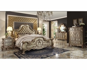 Bedroom Set Dresden Gold by Acme Furniture AC2316SET
