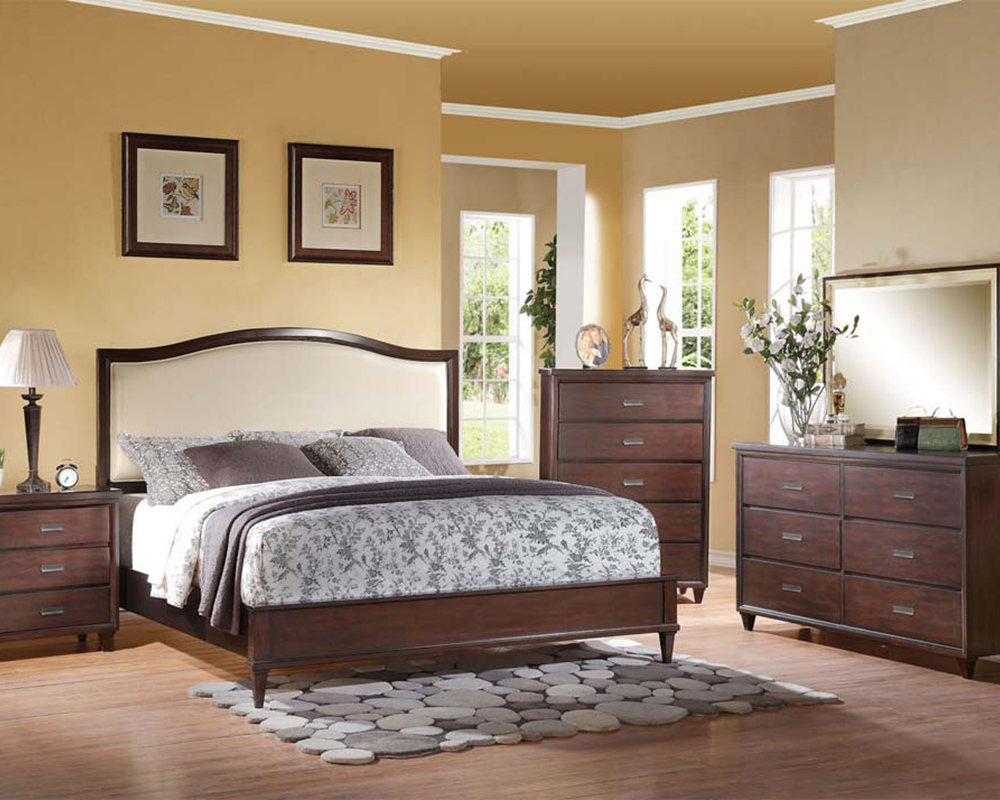 Bedroom Set In Rich Cherry Raleigh By Acme Furniture AC22820SET