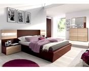 Bedroom Set Mario Modern Style Made in Spain 33B381