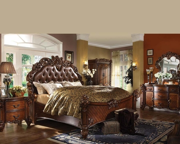 bedroom set vendome cherry by acme furniture ac22000set
