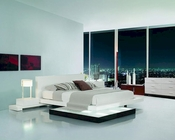 Bedroom Set w/ Walk-On Light Platform Bed 44B204SET
