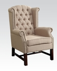 Beige Fabric Accent Chair by Acme Furniture AC59310