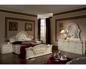 Beige Finish Classic Bedroom Set Made in Italy 44B1811BG