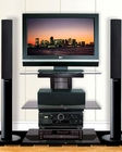 Bello - Contemporary Metal and Glass TV Stand  BE-PVS-4219HG