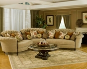 Benetti's 3pc Sectional Sofa Elena BTEL145S