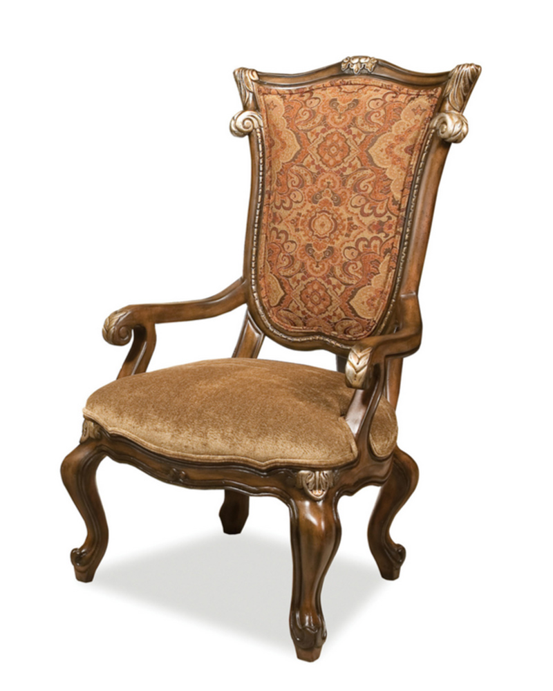 Benetti S Arm Chair In Traditional Style Abrianna Btab017