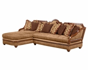 Benetti's Italia Lucianna 2pc Sectional Sofa BTLU178