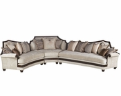 Benetti's Italia Visconte 3pc Sectional Sofa BTVI155