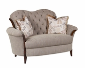 Benetti's Loveseat in Fabric Elena BTEL147