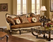 Benetti's Loveseat in Traditional Style Abrianna BTAB012